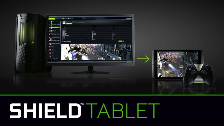 nvidia shield tablet k1 game stream