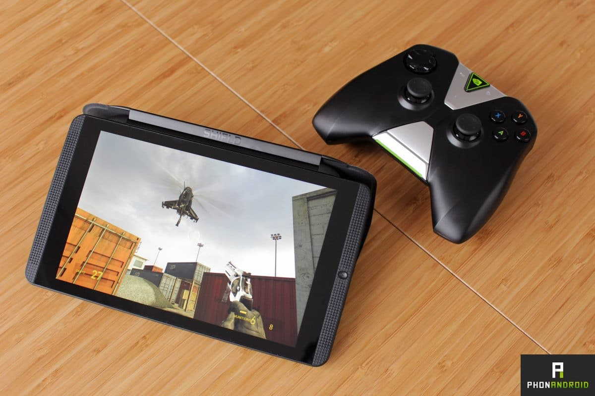 nvidia shield tablet k1 jeu half life 2