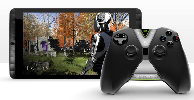 nvidia shield tablet k1 manette