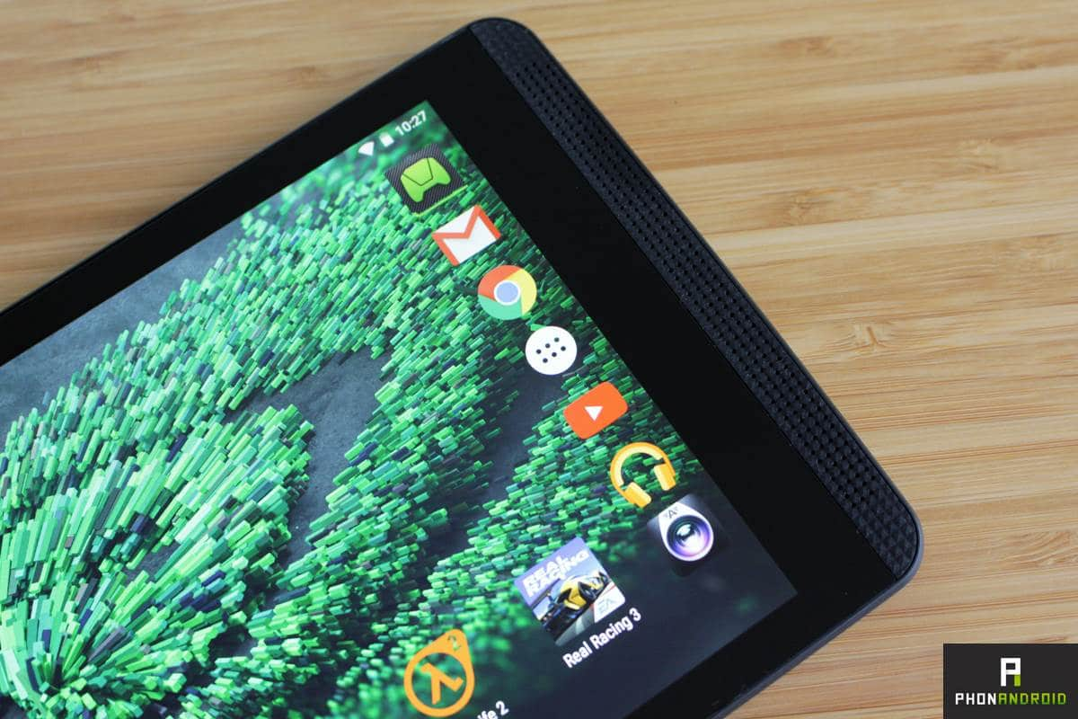 nvidia shield tablet k1 prise en main