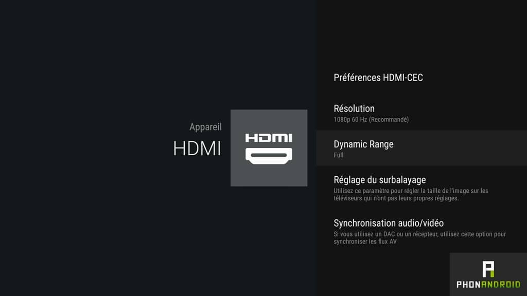 nvidia shiled tv hdmi resolution