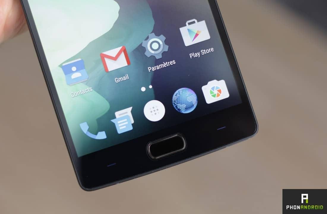 OnePlus 2 lecteur empreintes