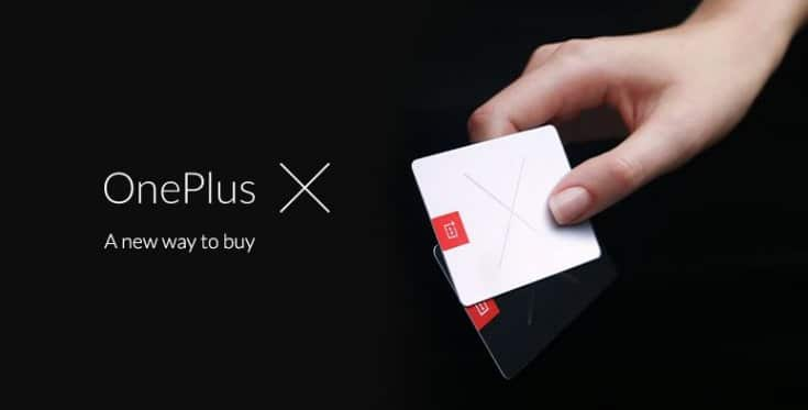 OnePlus X invitations