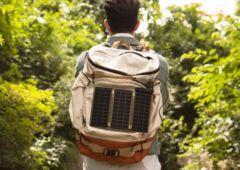 solar paper chargeur solaire