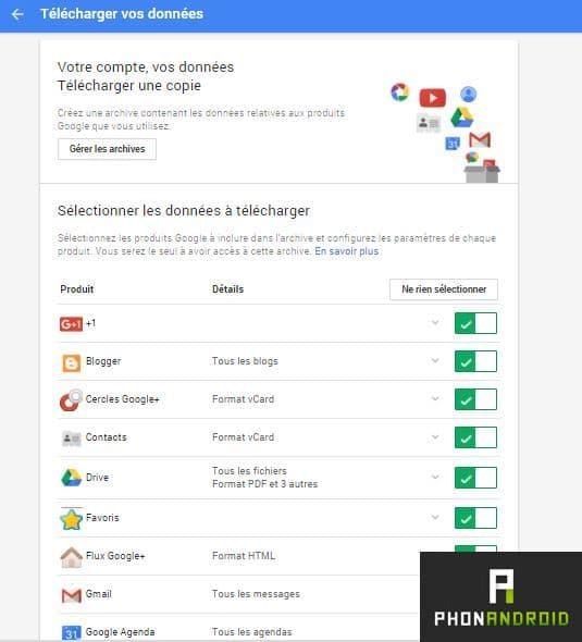 telecharger google