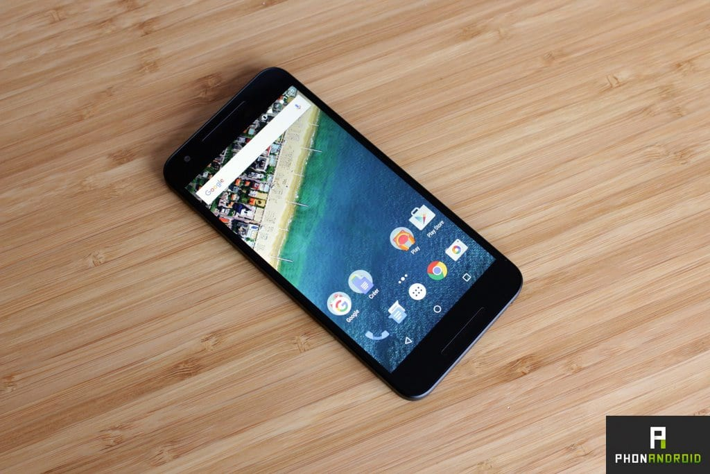 test google nexus 5x