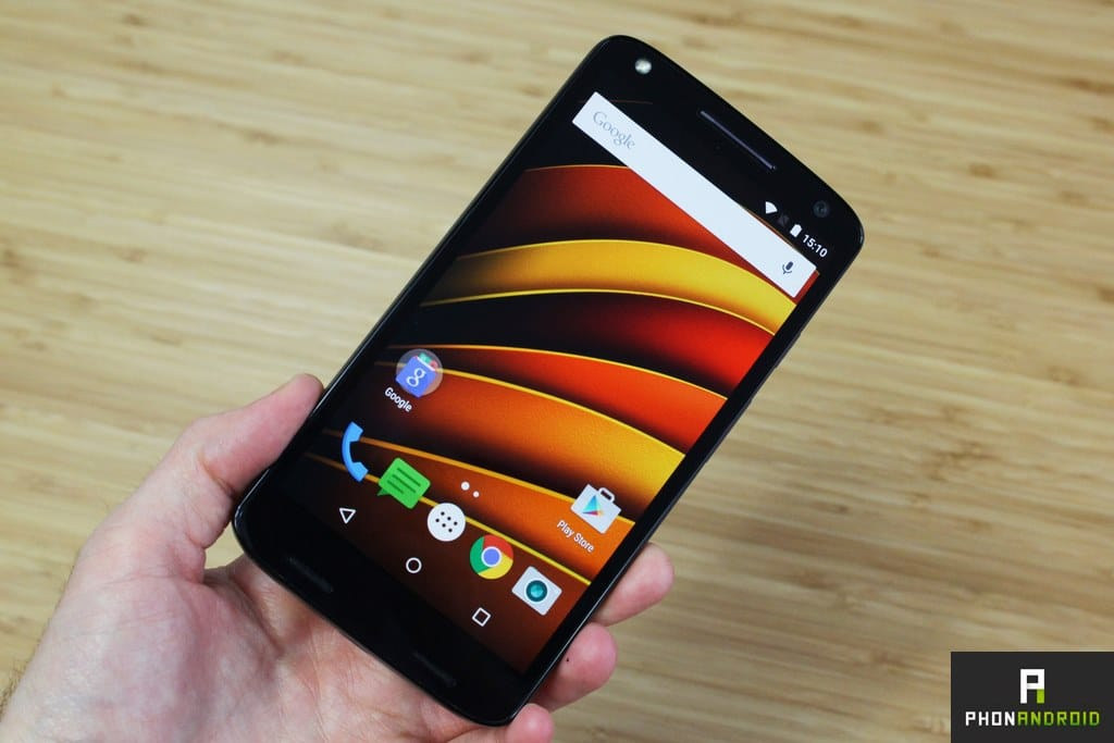 test moto x force