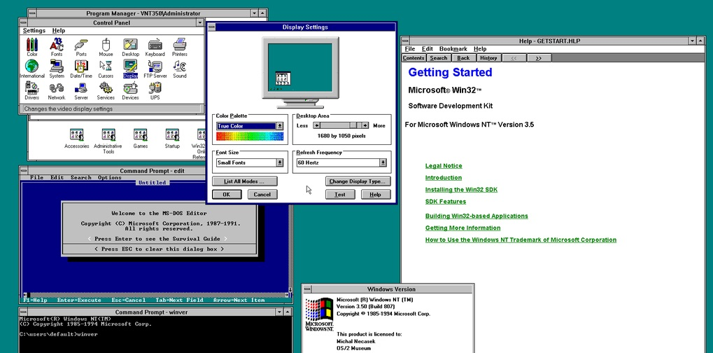 Windows 3.5