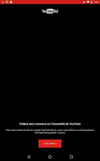 YouTube Music limité 2