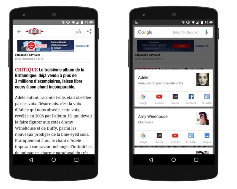 Google on Tap France