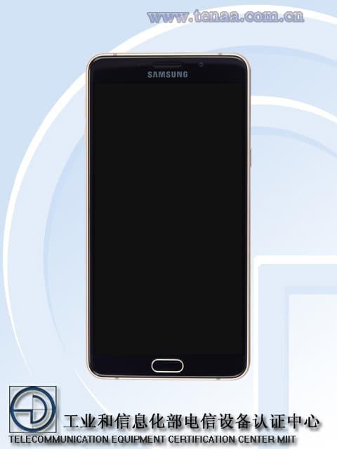 Samsung Galaxy A9 face