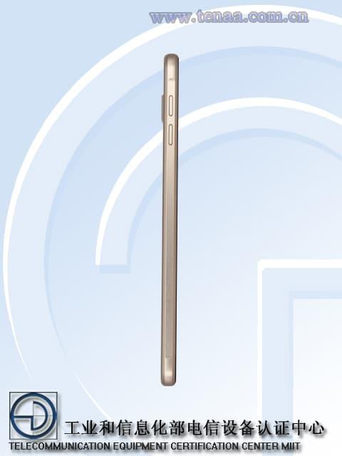 Samsung Galaxy A9 cote 1