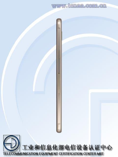 Samsung Galaxy A9 cote 2