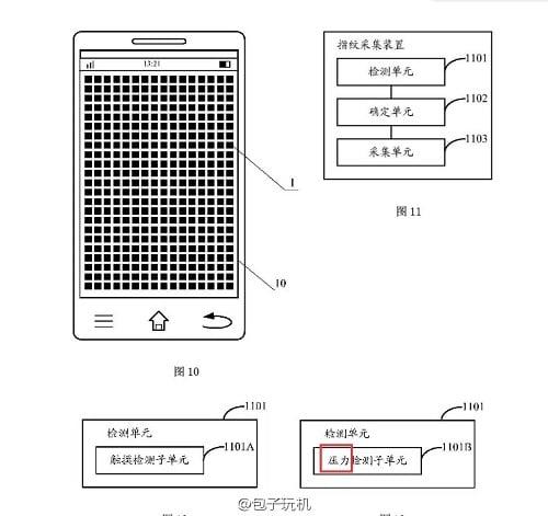 Xiaomi Mi5 lecteur empreintes