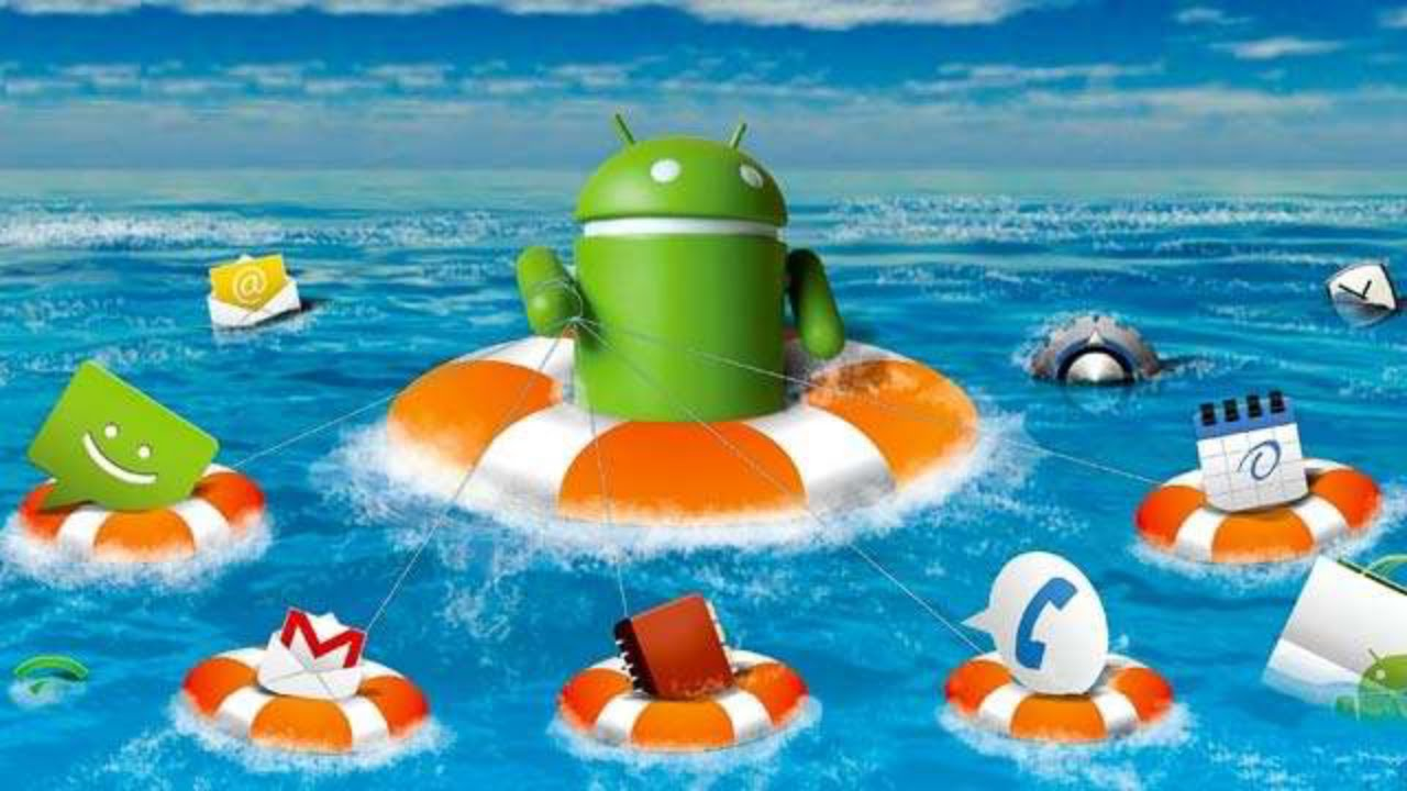 android factory reset backup