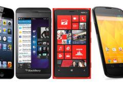 android ios blackberryos windowsphone