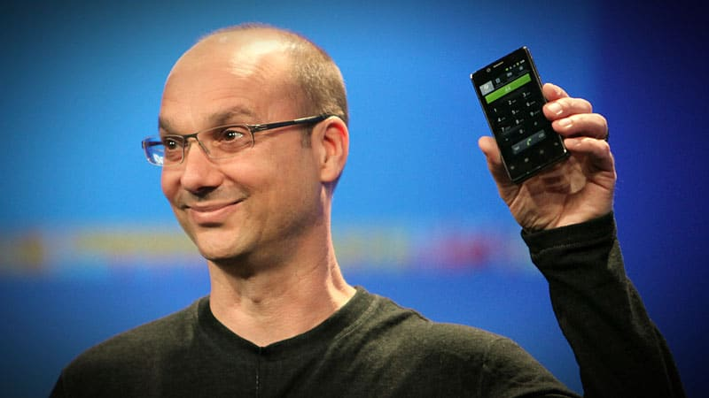 andy rubin pere android nouvelle marque smartphones
