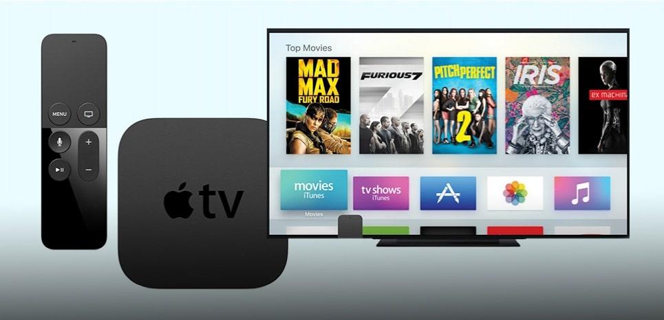 apple tv jeux