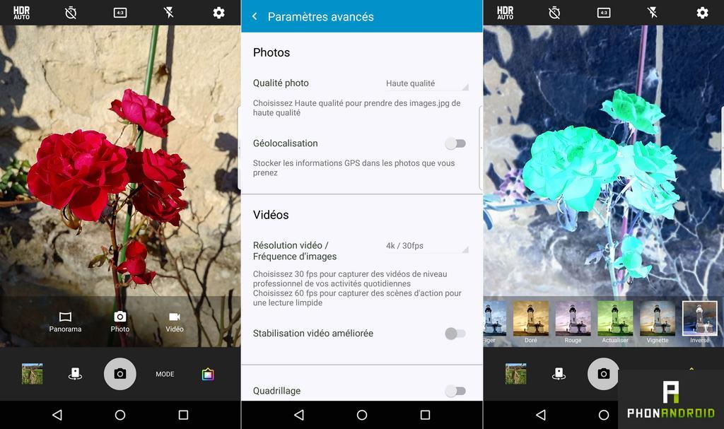 blackberry priv application photo