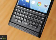 blackberry priv clavier physique