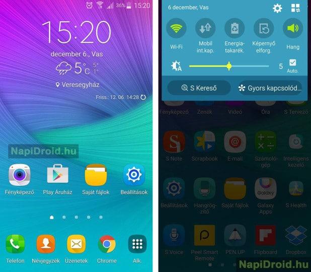 Galaxy Note 4 Marshmallow