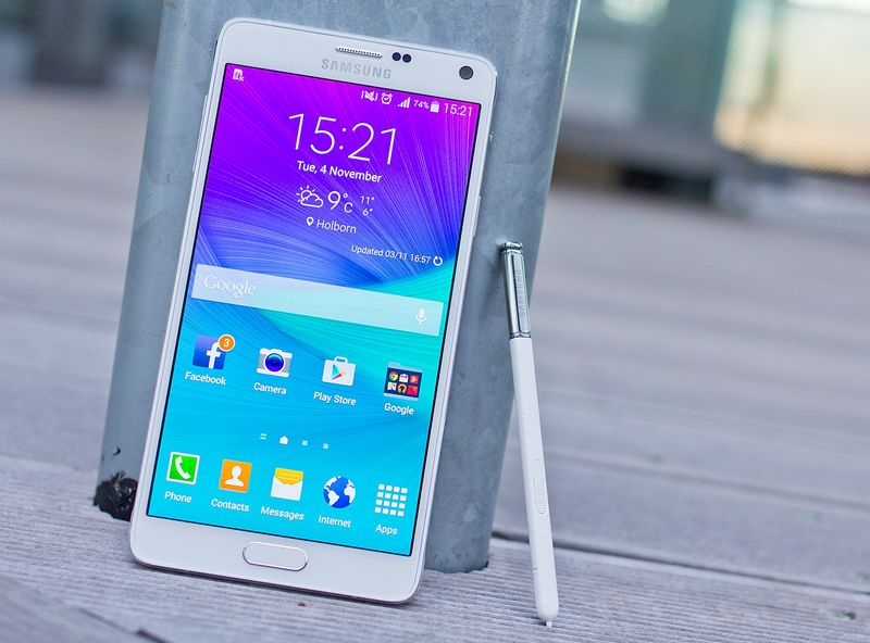 Gaaxy Note 4 mise a jour marshmallow