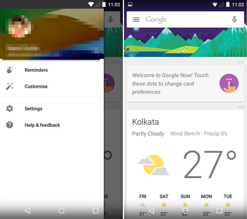 google now lollipop