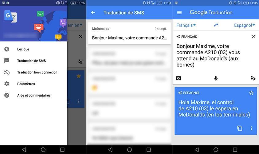 google-trad-sms