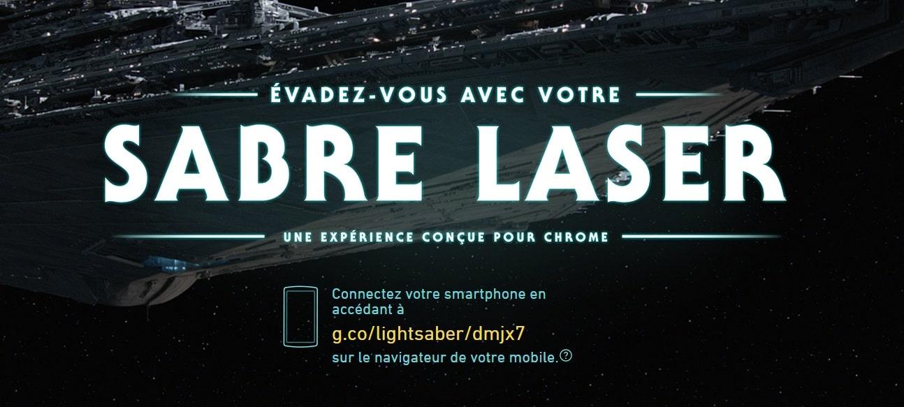 lightsaber escape chrome