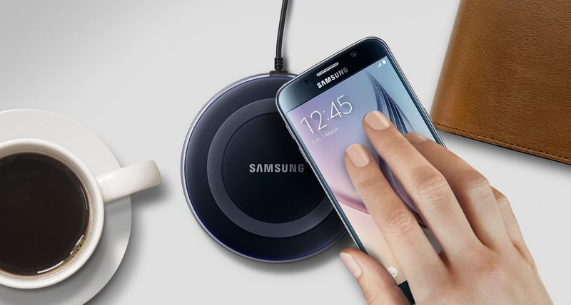 recharge sans fil samsung