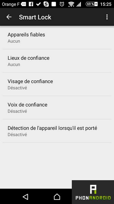 smart lock verrouillage