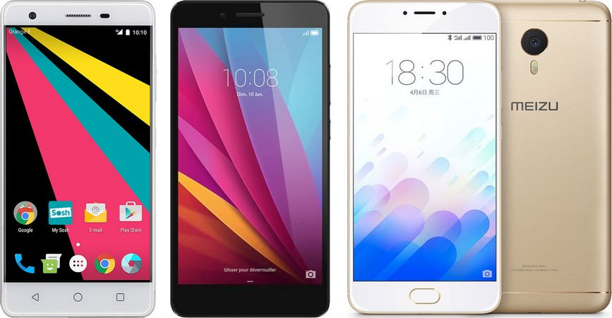 smartphones 4G pas chers