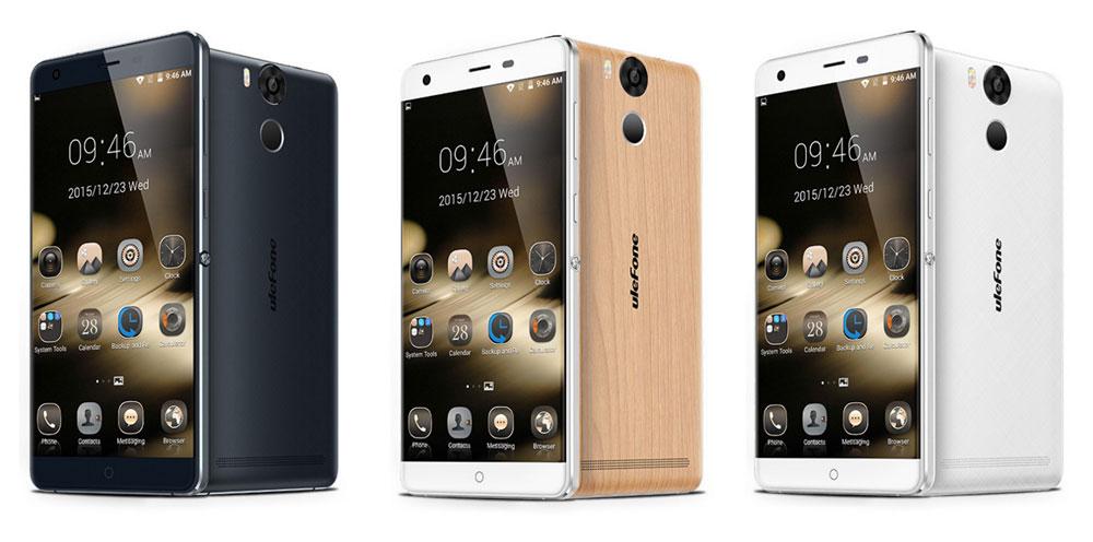 Ulefone Power : une batterie de 6050 mAh et un très beau design pour 200€