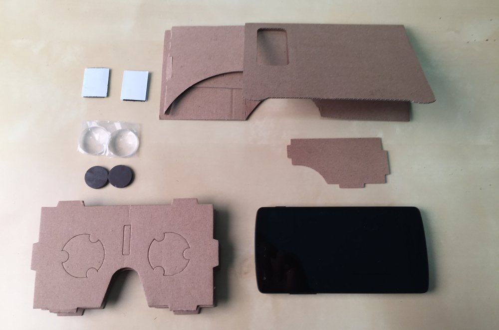 Fabriquer Google Cardboard