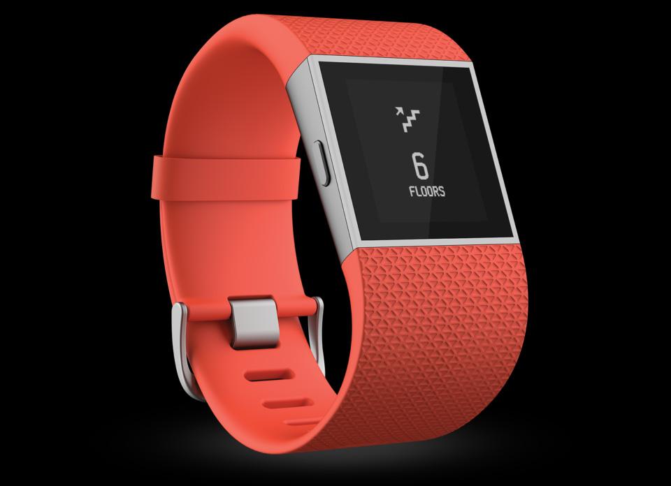 Montre Fitbit Rouge