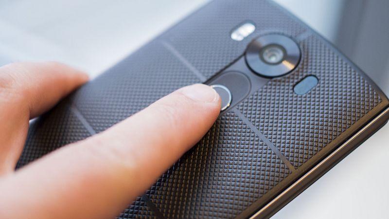 LG G5 lecteur empreintes