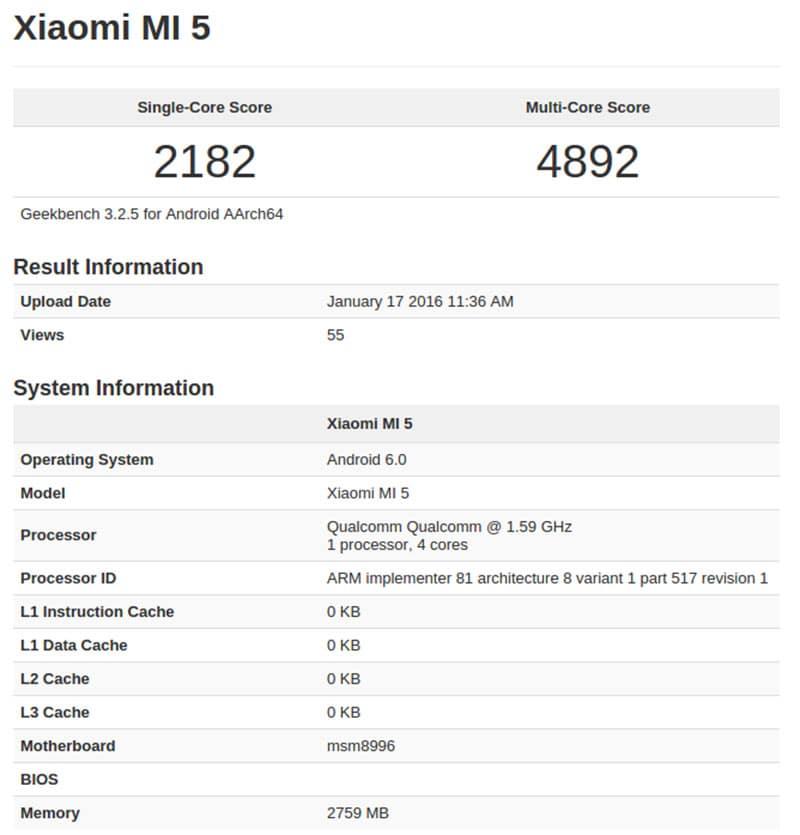 Xiaomi-Mi-5-GeekBench