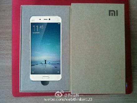 Xiaomi Mi5 packaging