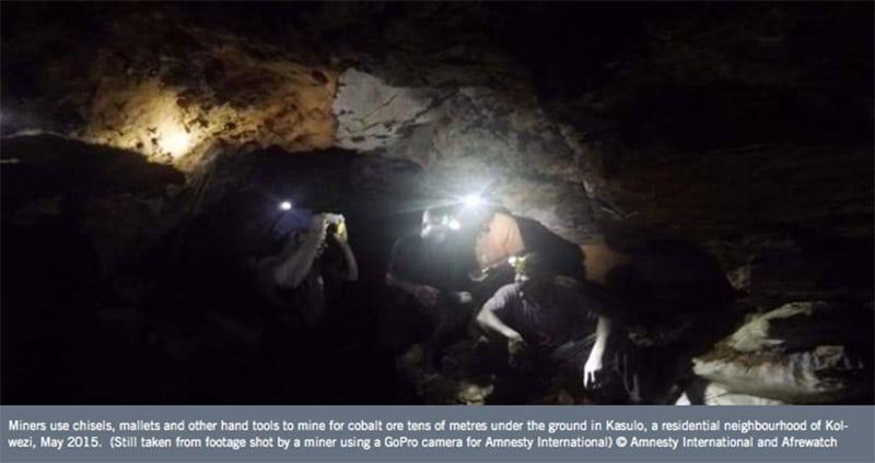 exploitation enfant mines afrique