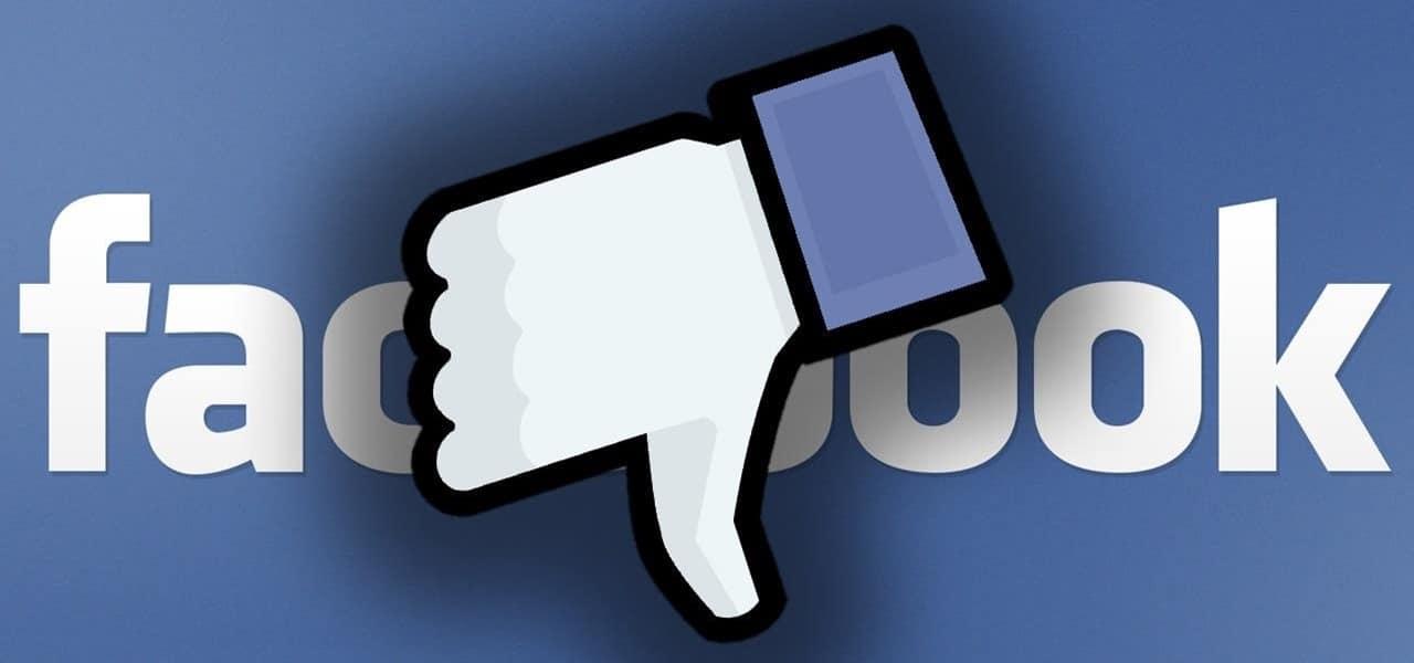 facebook censure viol