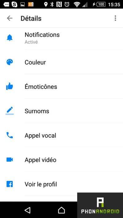 facebook messenger surnoms