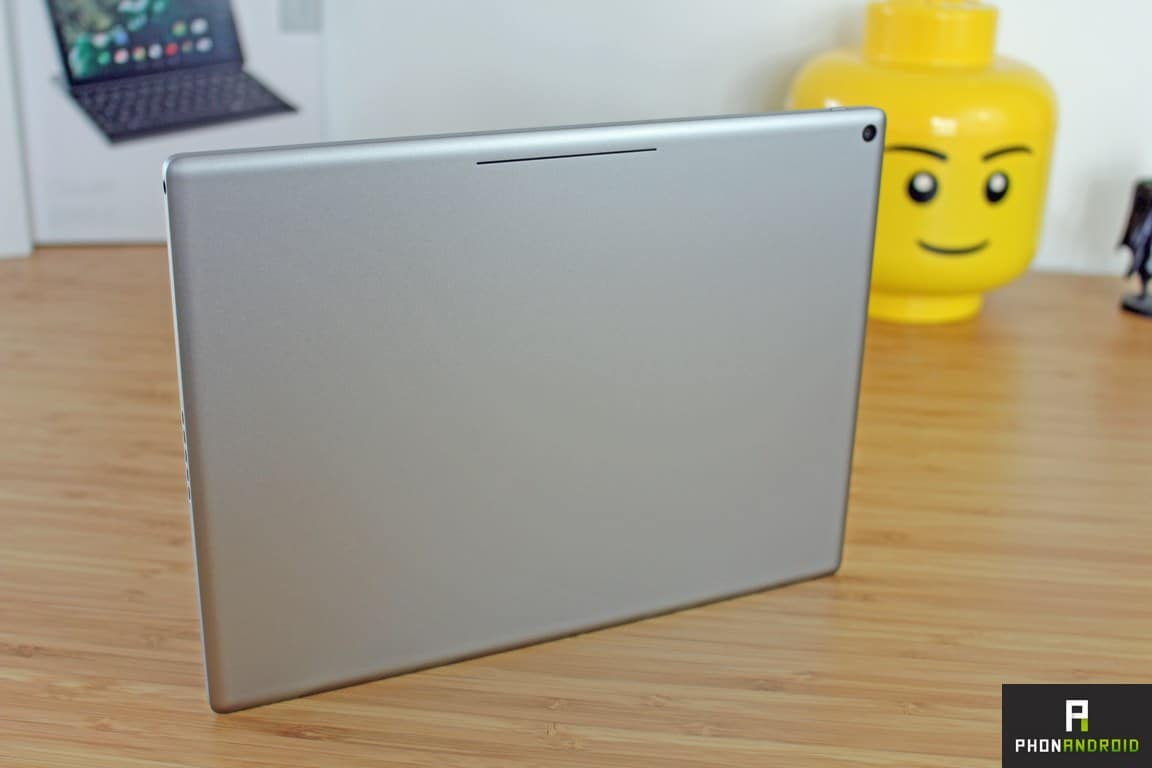 google pixel c design aluminium