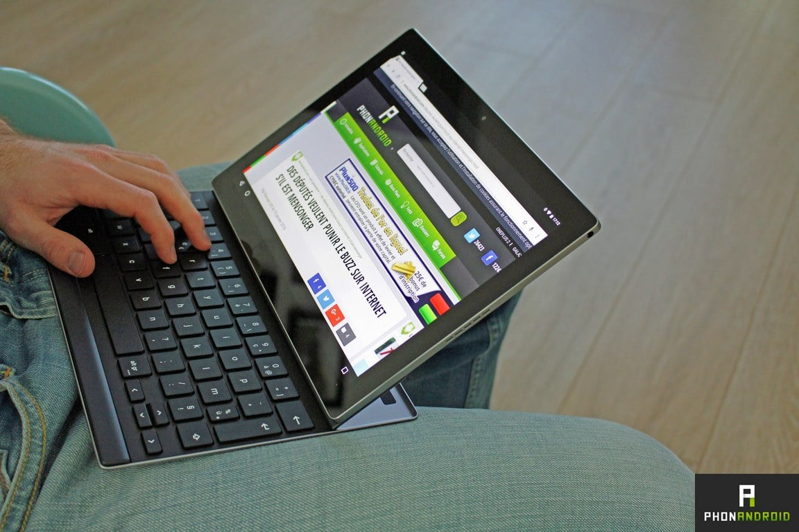 google pixel c ordinateur portable