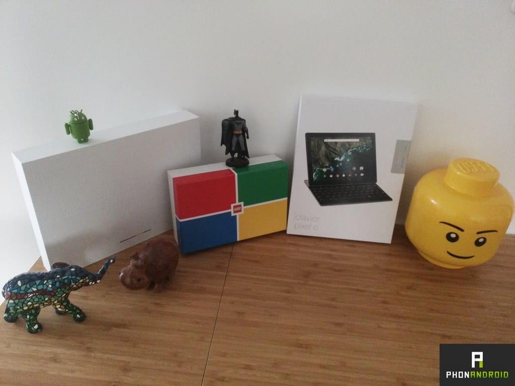 google pixel c photo faible lumiere