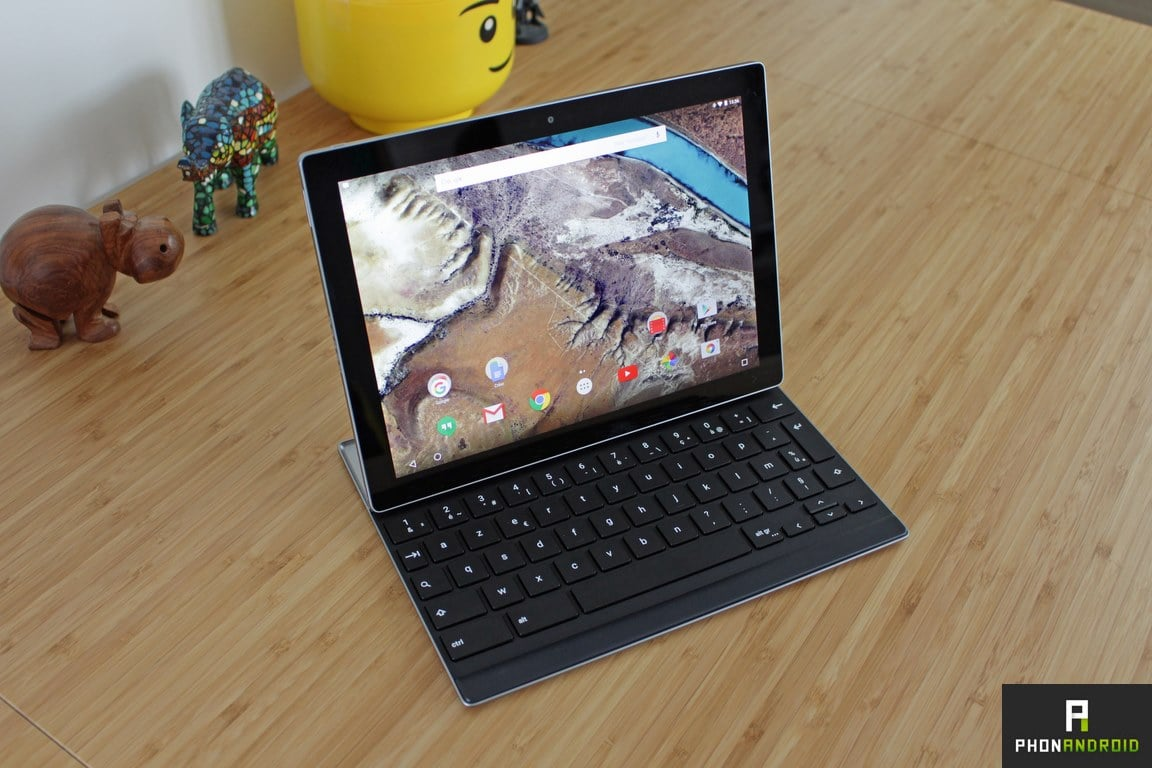 google pixel c tablette