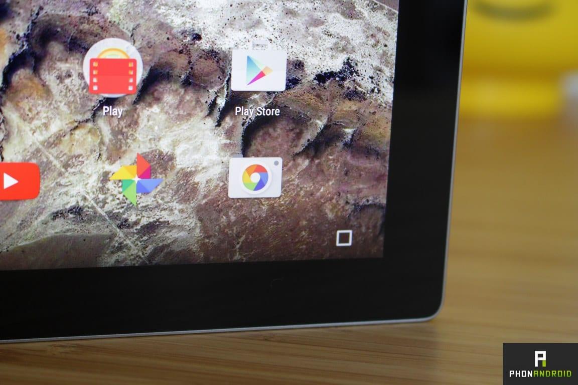 google pixel c touche