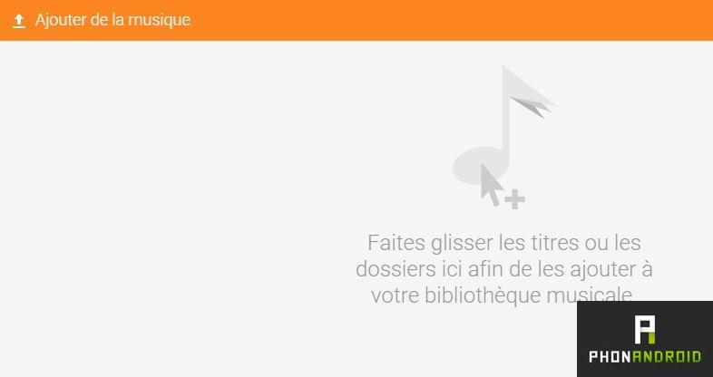Google Play Musique ajouter
