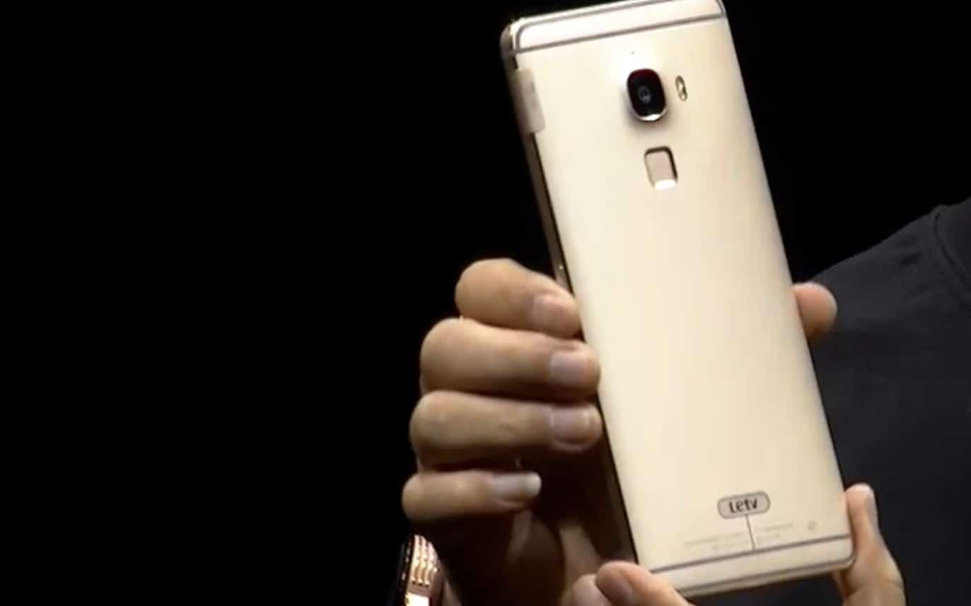 CES 2016 : LeTV Max Pro, le premier smartphone avec ...
