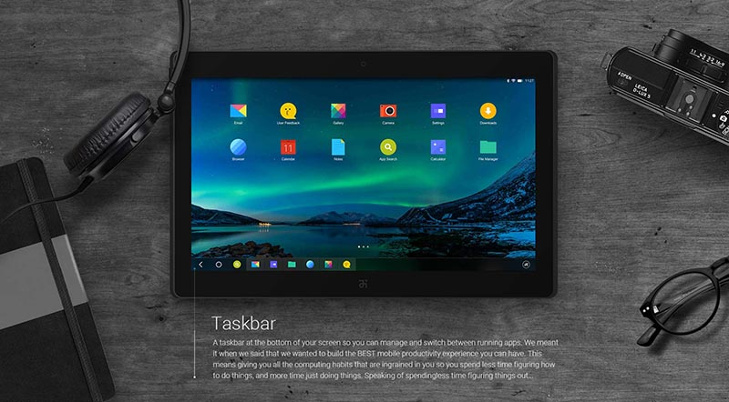 remix os barre taches