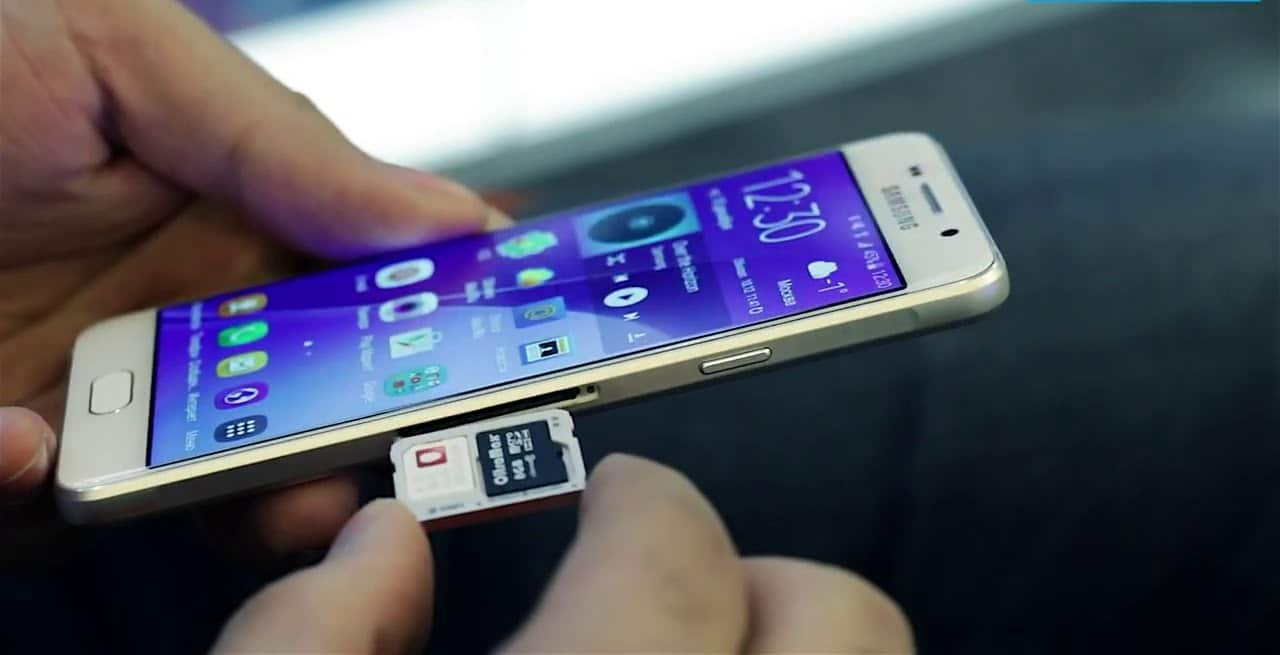 Galaxy S7 slot SD
